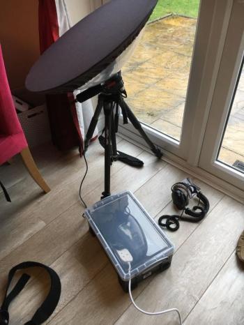 Box for keeping recorder dry outdoors (David Darrell-Lambert)